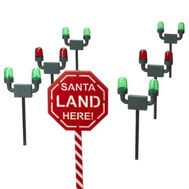 Christmas Runway Lights.Christmas Holographic Display Christmas Yard Decorations