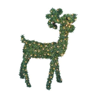 Lighted Ball Topiaries | Single, Double & Triple Ball